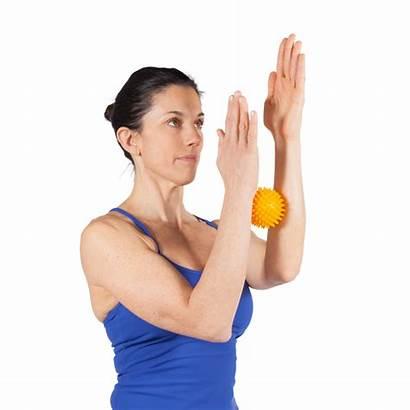 Ball Massage Yellow 8cm Hands Optp Balls