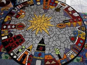 Mosaik Basteln Ideen : die besten 17 ideen zu mosaiktische auf pinterest mosaik ~ Lizthompson.info Haus und Dekorationen