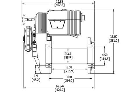 warn m8000 wiring diagram warn m8000 wiring