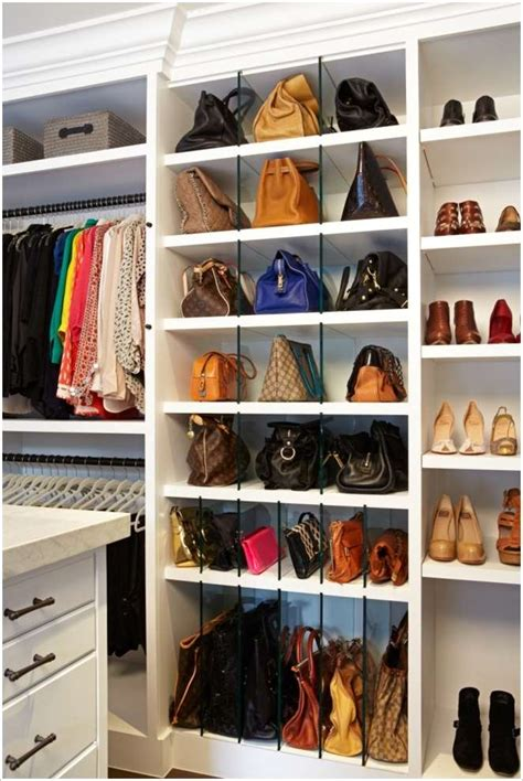 Purse Closet by 17 Clever Handbag Storage Ideas And Solutions