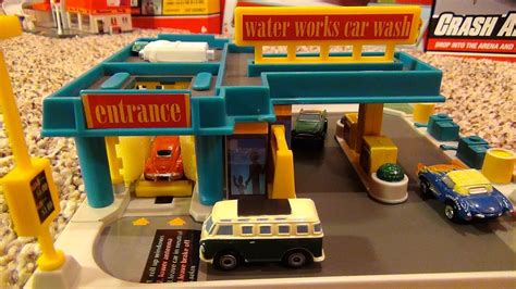 micro machines water works car wash hiways byways