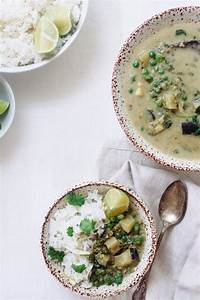 Thai Green Curry with Coconut White Rice Recipe