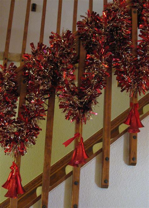 banister decorations christmas fun christmas