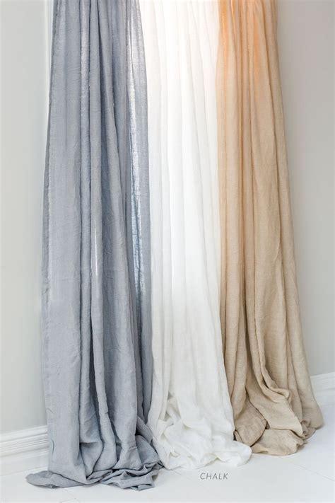 drapes linen best 25 white linen curtains ideas on white