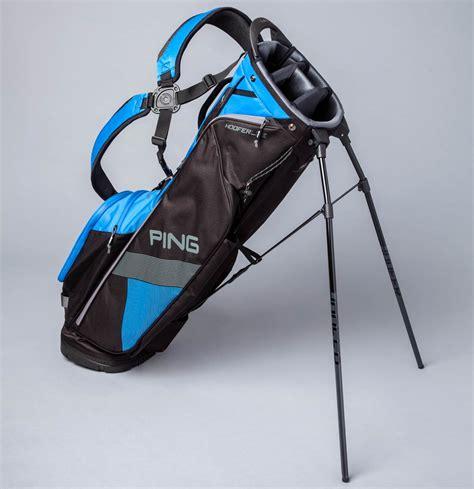 golf ping hoofer lite bag bags light smart game