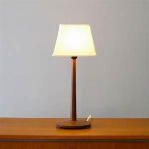 Lampe A Poser Scandinave : lampe design scandinave 1960 bois palissandre la maison retro ~ Melissatoandfro.com Idées de Décoration