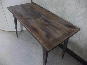 Petite Table Basse : petite table basse de salon vintage industriel luckyfind ~ Teatrodelosmanantiales.com Idées de Décoration