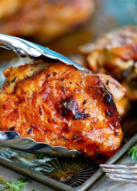 easy glazed honey balsamic chicken mom timeout
