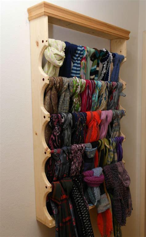 build   custom scarf rack doityourselfcom