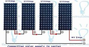 The Complete Method Of Connecting Solar Panels In Series