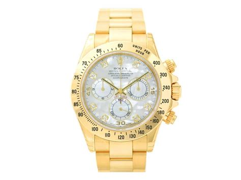 Rolex Cosmograph Daytona MOP Dial Yellow Gold 40mm ...
