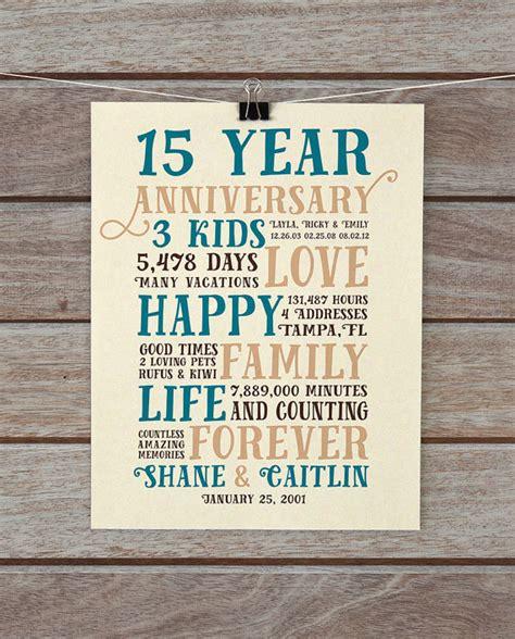 15 Year Anniversary Gift Ideas For Husband Eskayalitim