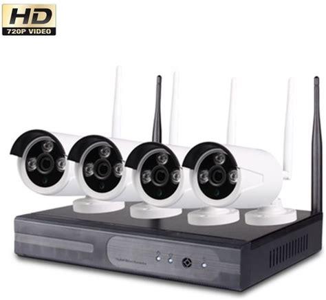 beveiligingscamera buiten wifi bol wireless beveiligingscamera set met 4 cameras