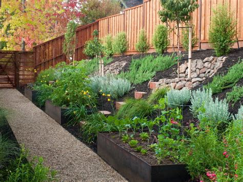 ideas for gardens on a slope landscaping landscaping ideas on a slope