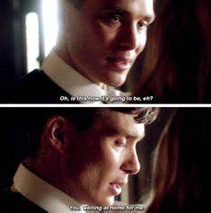 Peaky Blinders Thomas Shelby and Grace Burgess | Peaky BOO ...