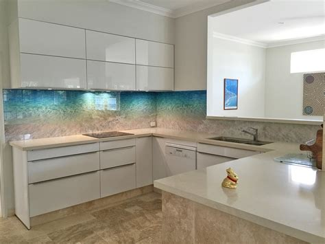 Kitchen Tiled Splashback Ideas - glass splashbacks perth kitchen bathroom splashbacks perth splashbacks