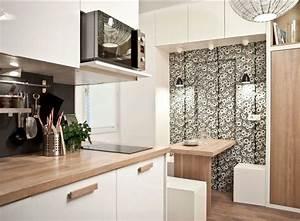 20 genius small kitchen decorating ideas freshomecom With decoration de petit appartement