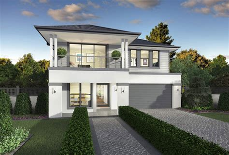 Stunning House Facade Styles Ideas by Oakmont Two Storey Home Design Canberra Mcdonald