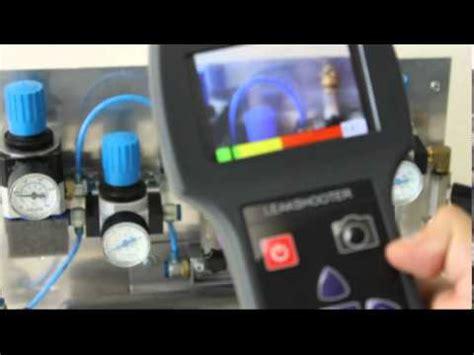 ultrasonic leak detection camera youtube