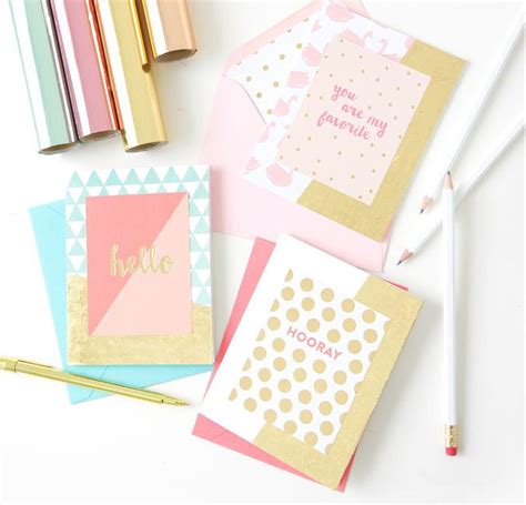 """foiled Again"" Card Making Ideas Allfreepapercraftscom"
