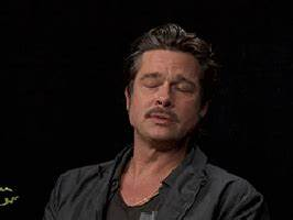 Frustrated Brad Pitt GIF - Find & Share on GIPHY