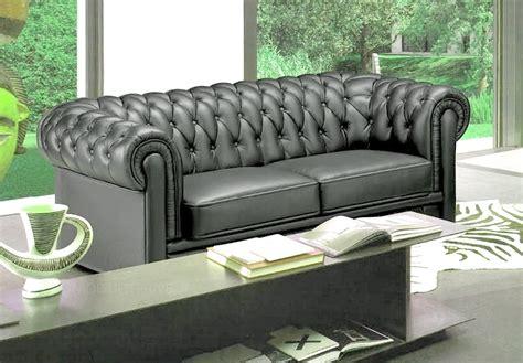 canap 233 3 places en cuir mobilier priv 233