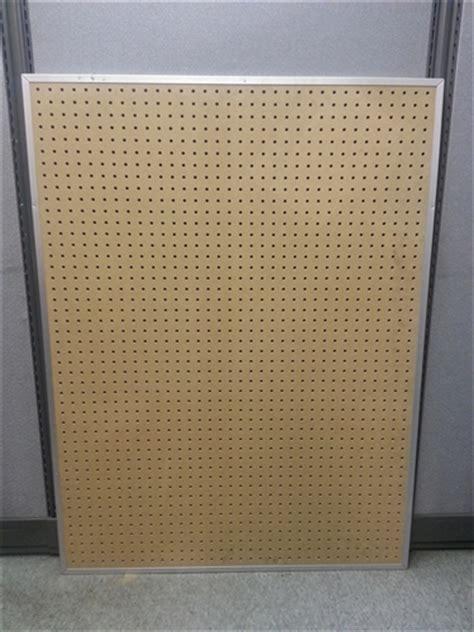 Clearance, Aluminum Framed Pegboard