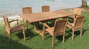 Tisch Und 6 Stühle : 160er eckiger auszieh teak tisch inkl 6 st hle terrasse garten neu ebay ~ Bigdaddyawards.com Haus und Dekorationen