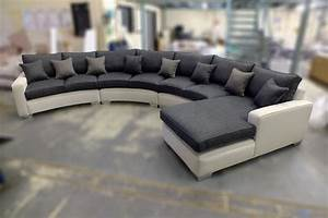 Big Size Sofa : extra large curved sofa bespoke sofa bespoke furniture ~ A.2002-acura-tl-radio.info Haus und Dekorationen