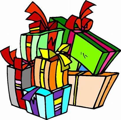 Clipart Geschenke Noel Cliparts Clip Cadeaus Regalos
