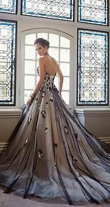 35 Black White Wedding Dresses With Edgy Elegance