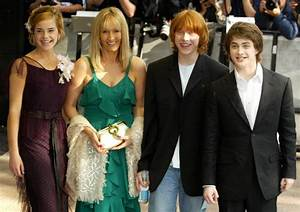 2004 | JK Rowling and the Harry Potter Cast Through the ...