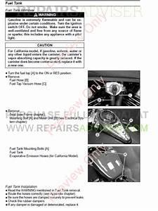 Kawasaki Vulcan800  Vn800 Classic Motorcycle Service Manual