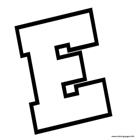 Coloring Letter E by Letter E Alphabet S Free2420 Coloring Pages Printable
