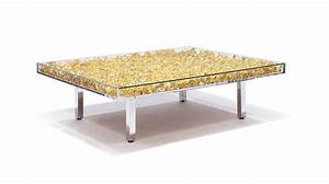 table monogoldtm by yves klein guy hepner With yves klein coffee table