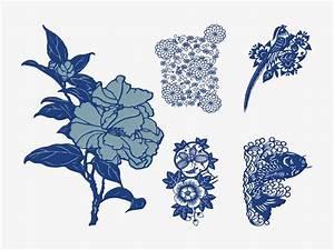 Image Gallery japanese flower vector art