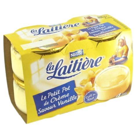 la laitiere creme vanille saveur vanille tous les produits sp 233 cialit 233 s p 226 tissi 232 res