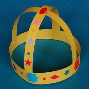 Couronne En Papier à Imprimer : bricolage d 39 une couronne de roi m di val t te modeler ~ Melissatoandfro.com Idées de Décoration