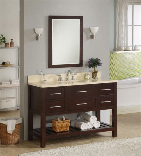 houzz kitchen faucets 48 inch single sink modern cherry bathroom vanity with