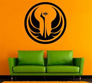 star wars symbol wall decal logo vinyl stickers home With kitchen colors with white cabinets with star wars vinyl stickers