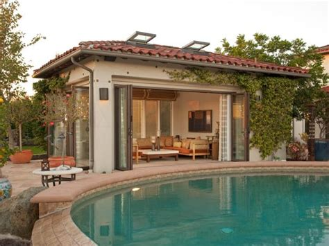 serene pool house hgtv