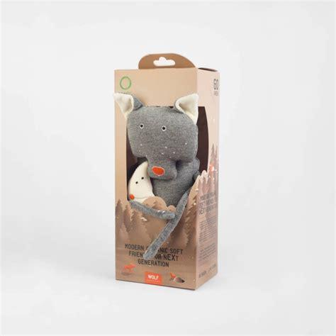 Wooly Organic Funky Feet kolekcijas Vilks, 22cm, 501 0226 ...