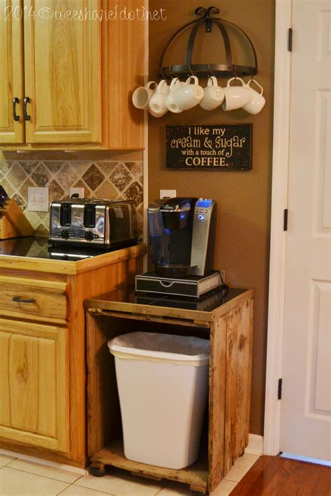 Our New Home: DIY Coffee Station   Wee Share
