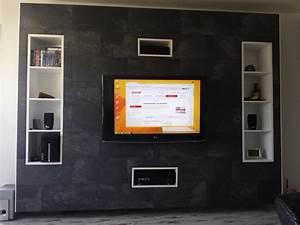 Tv Media Wand : tv media wand selber bauen interessante ideen f r die gestaltung eines raumes in ~ Sanjose-hotels-ca.com Haus und Dekorationen