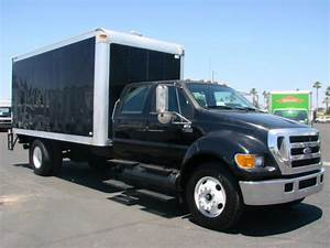 Used 2005 Ford F650 Xl Crew Cab Box Van Truck For Sale In