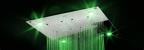 soffioni doccia cromoterapia prezzi caleidos 45x25 soffioni doccia mondo bagno 174