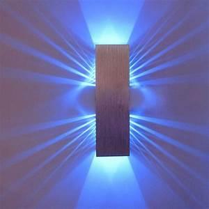 Moderne Wandleuchten Design : moderne led wandleuchte vision inspirierendes design f r wohnm bel ~ Markanthonyermac.com Haus und Dekorationen
