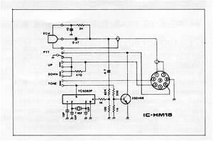 Icom Hm 152 Microphone Wiring Diagram