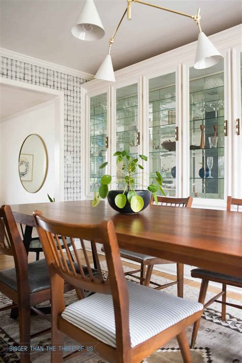 Modern Formal Dining Room Updates Bigger Than The Three