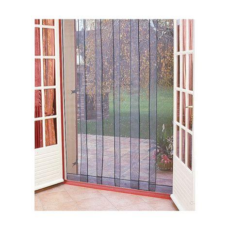 rideaux pour cuisine rideau de porte moustiquaire arles 6 bandes 160x220 cm